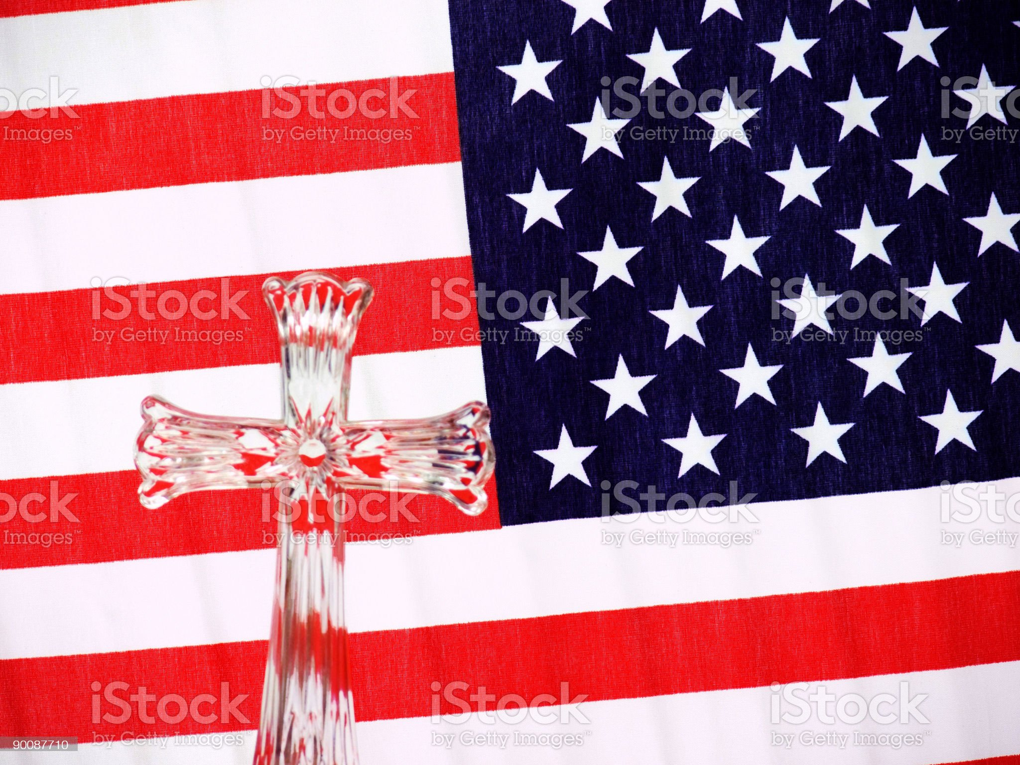 Christ in our Country royalty-free stock photo