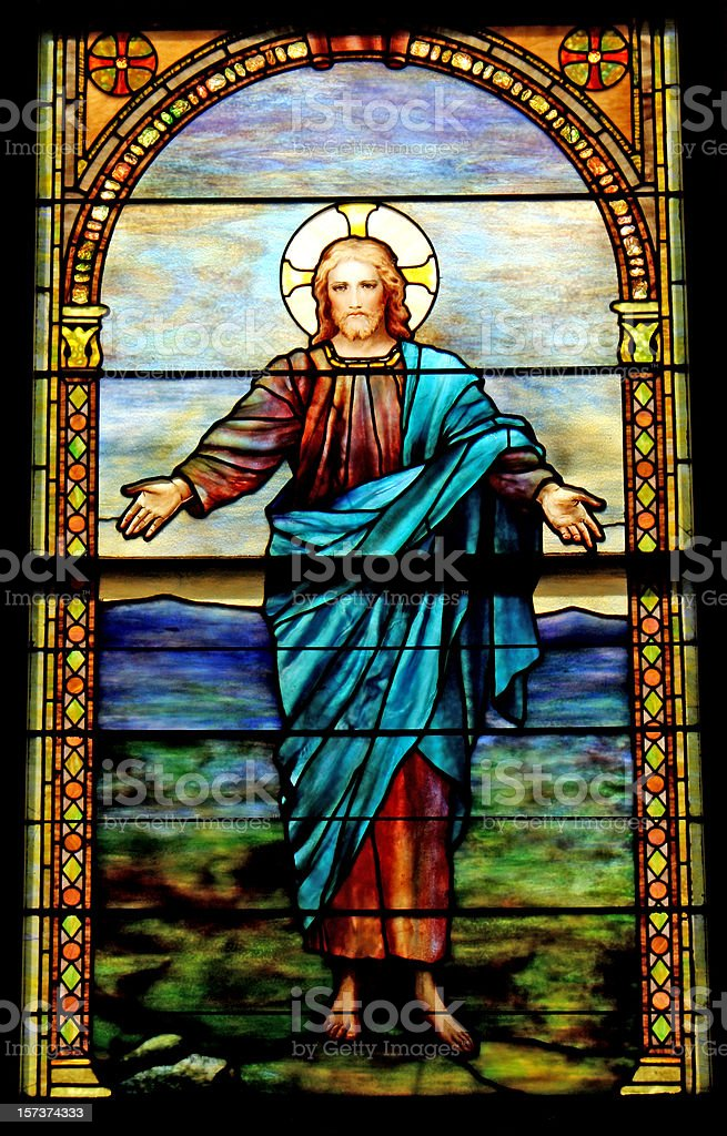Christ is Risen Close-up royalty-free stock photo
