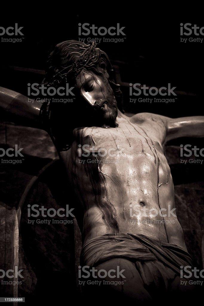 christ of juan batista vazquez stock photo