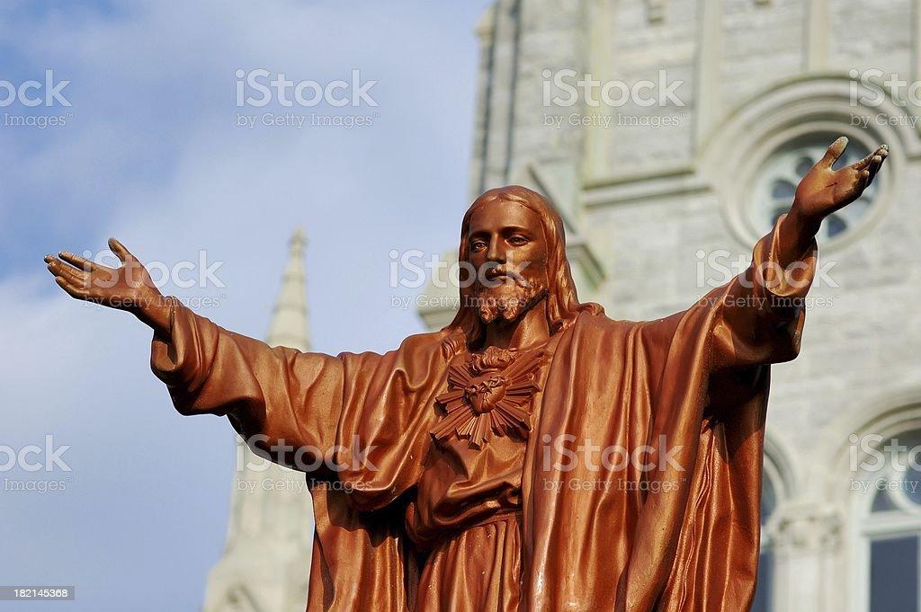 Christ stock photo