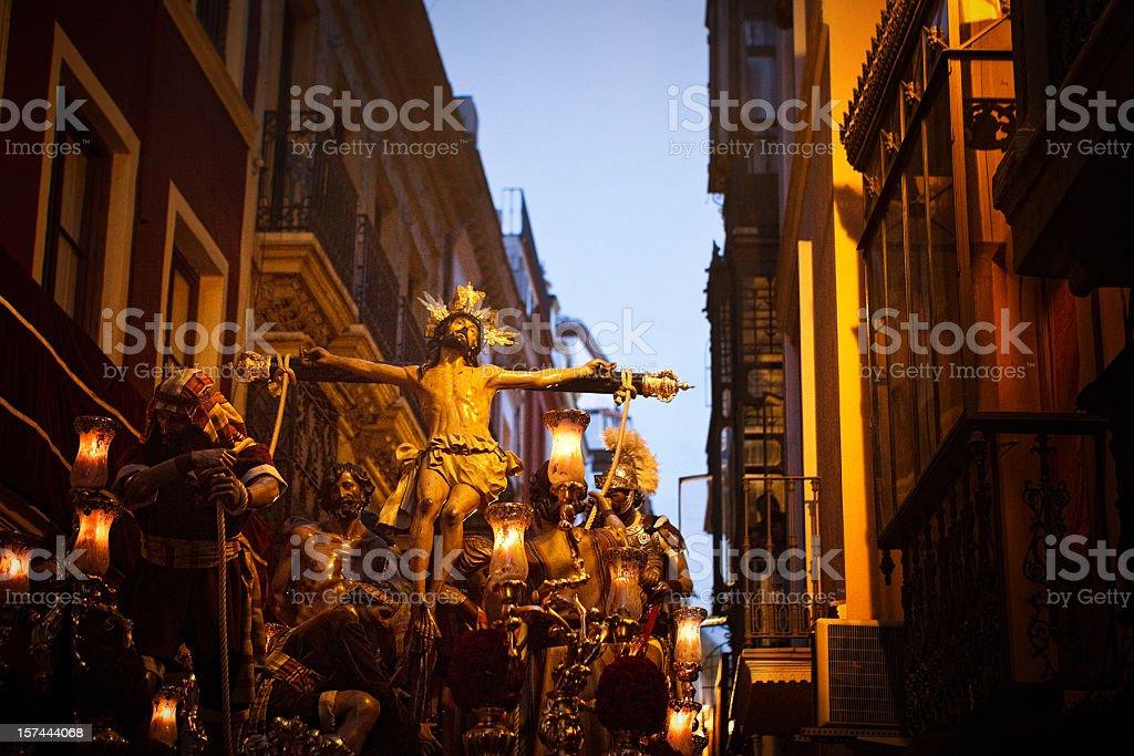 christ procression royalty-free stock photo