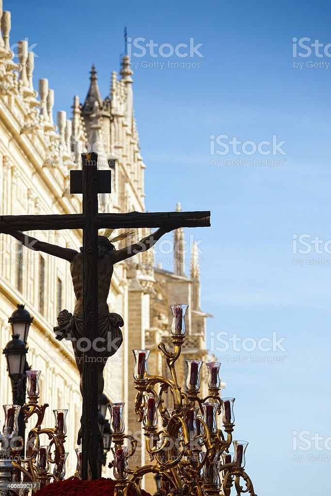 christ procression royalty-free stock photo