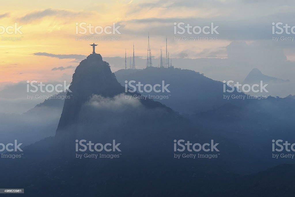 Christ redeemer, Rio de Janeiro, Brazil stock photo