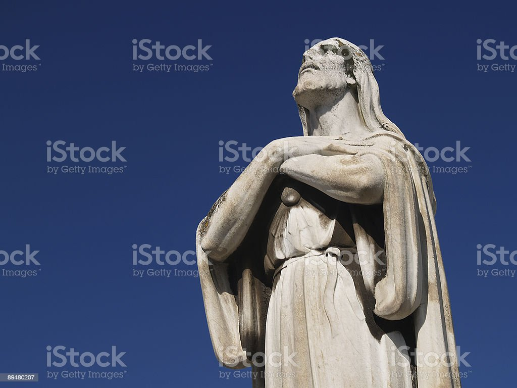 christ statue royalty-free stock photo