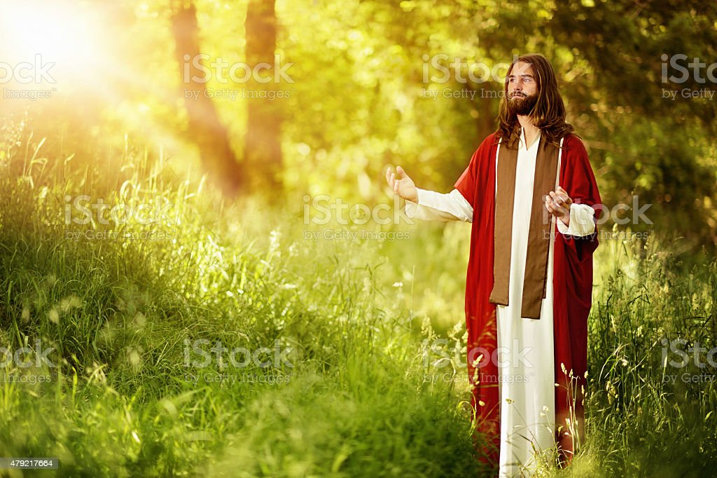 Christ - The Light of the World stock photo