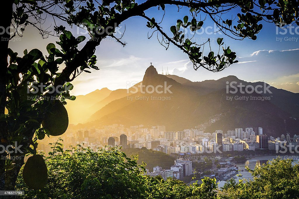 Christ The Redeemer royalty-free stock photo