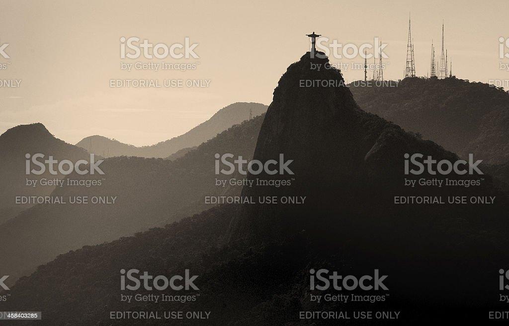 Christ the Redeemer, Rio de Janeiro, Brazil royalty-free stock photo