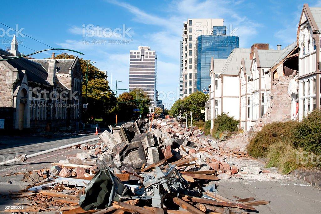 Christchurch - New Zealand stock photo