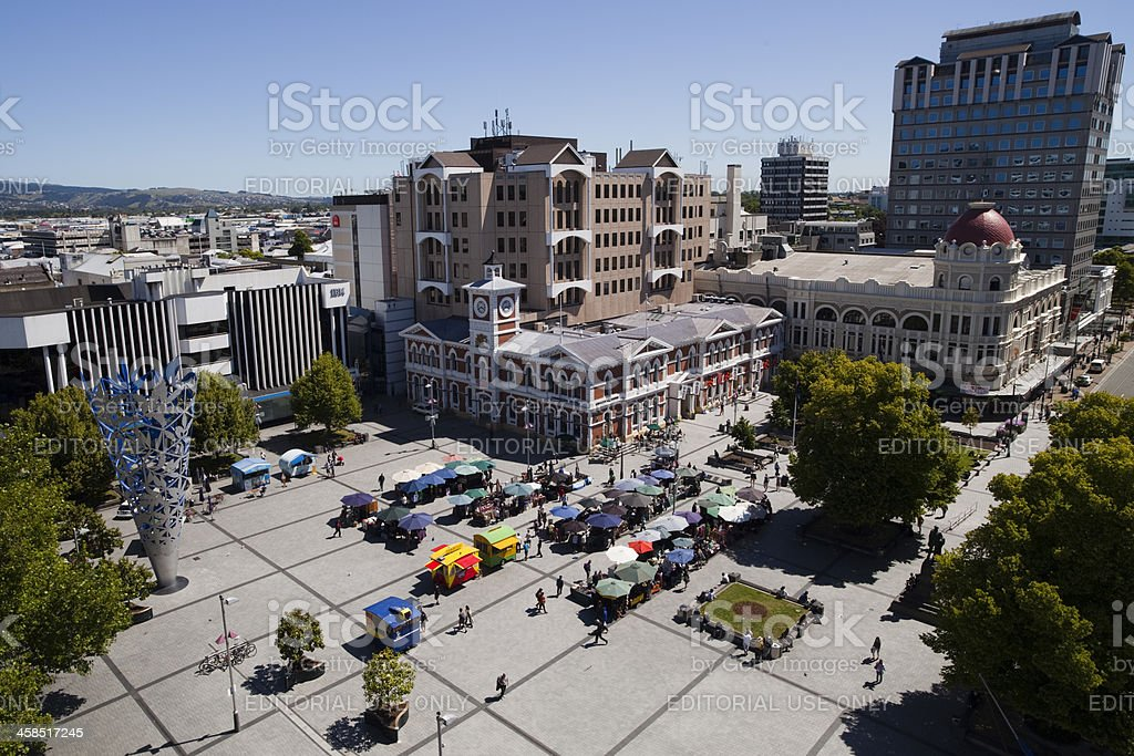 Christchurch royalty-free stock photo
