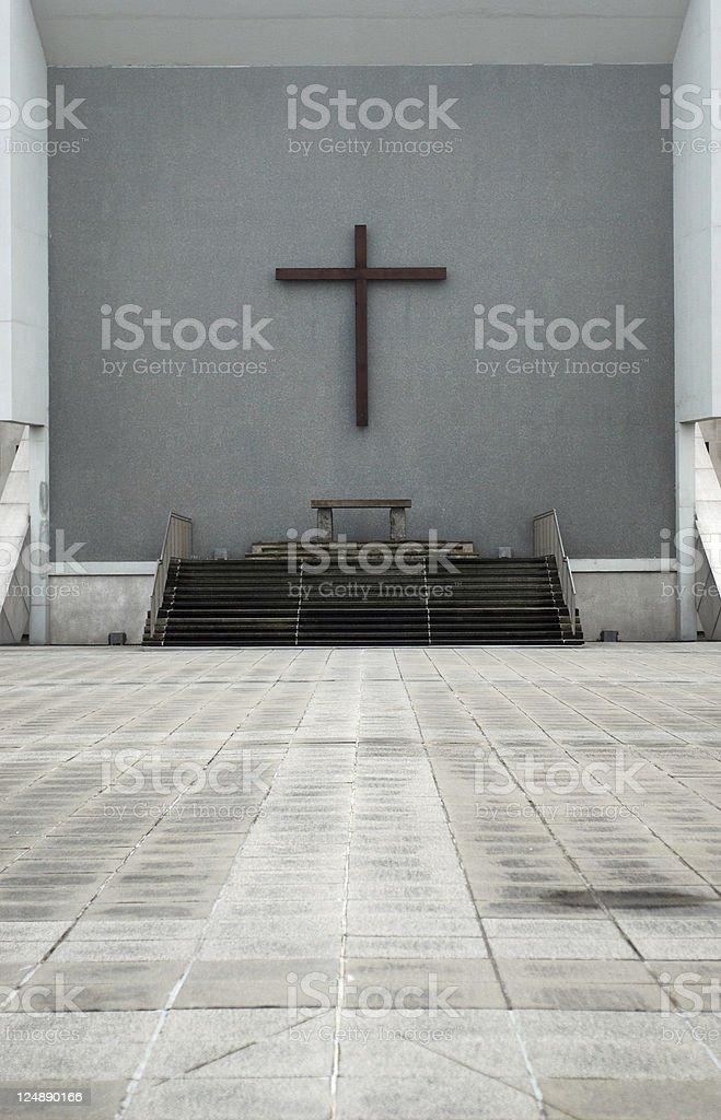 Christian altar royalty-free stock photo