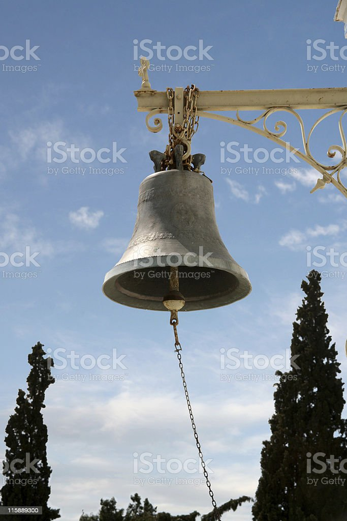 Christian bell royalty-free stock photo