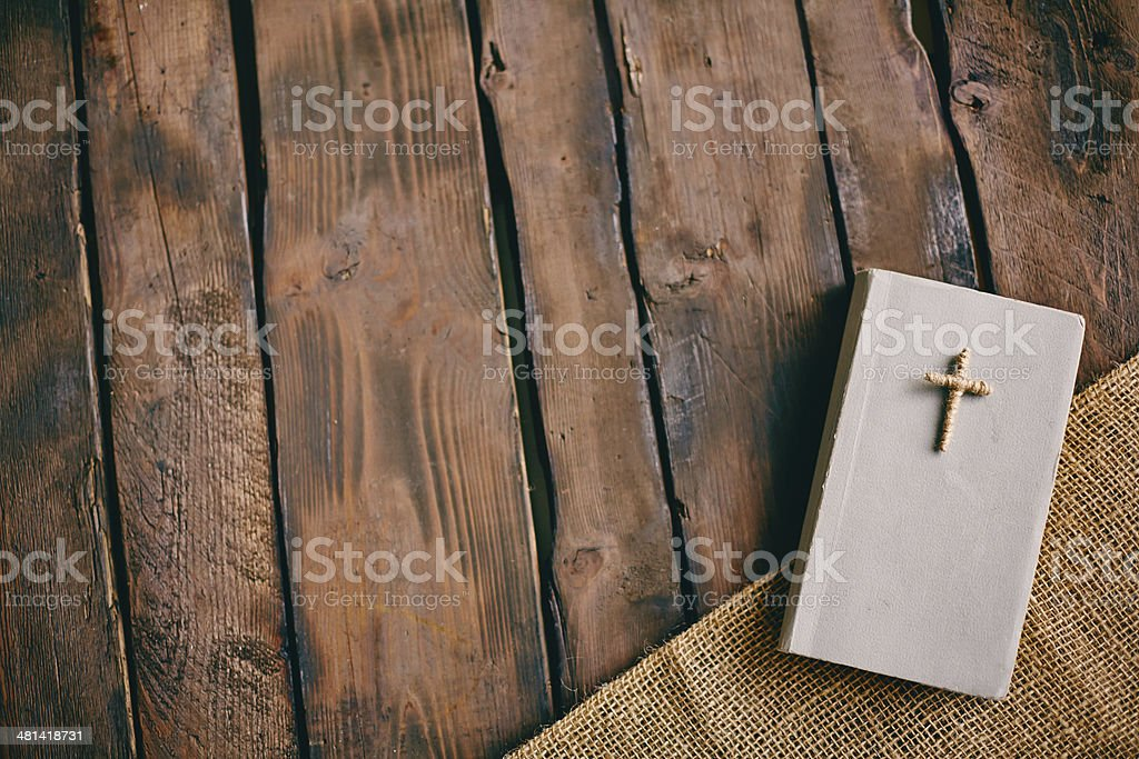 Christian book stock photo