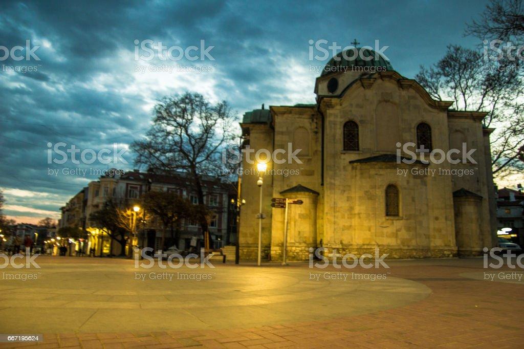 ortodoxal christian church on an epic sky - Varna, Bulgaria