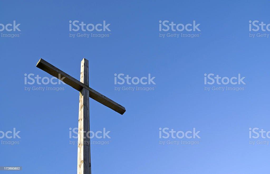 Christian Cross royalty-free stock photo