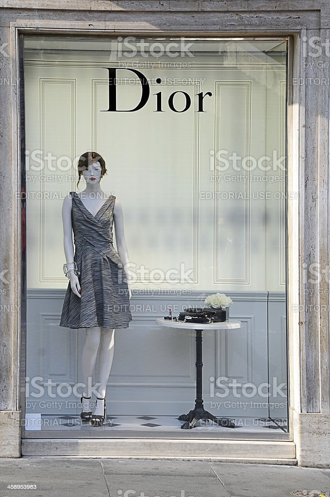 Christian Dior stock photo