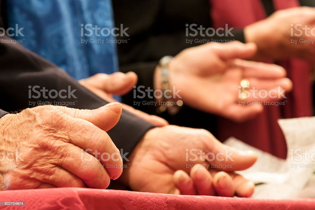 Christian faith stock photo
