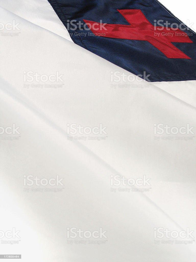 Christian Flag royalty-free stock photo