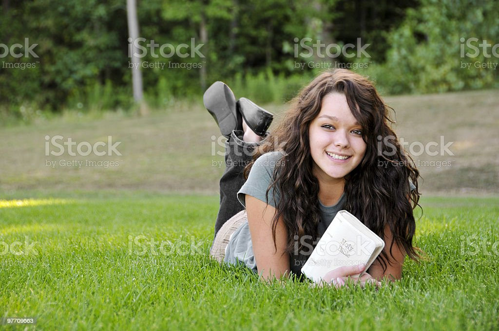 Christian girl royalty-free stock photo