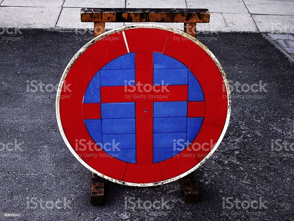 Christian road sign royalty-free stock photo
