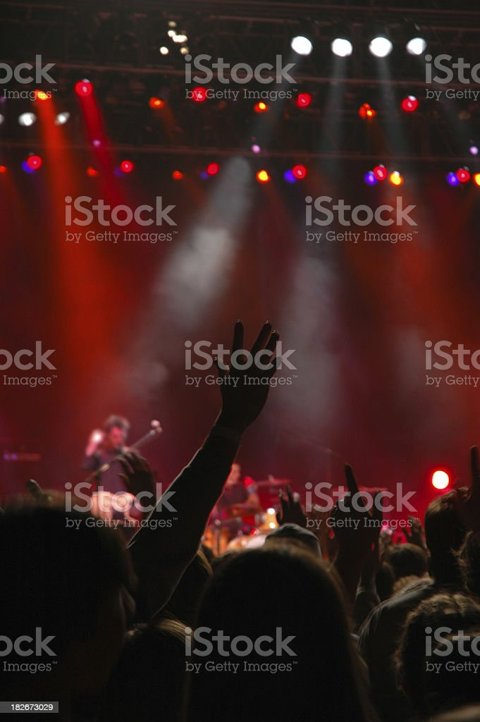 Christian Rock royalty-free stock photo