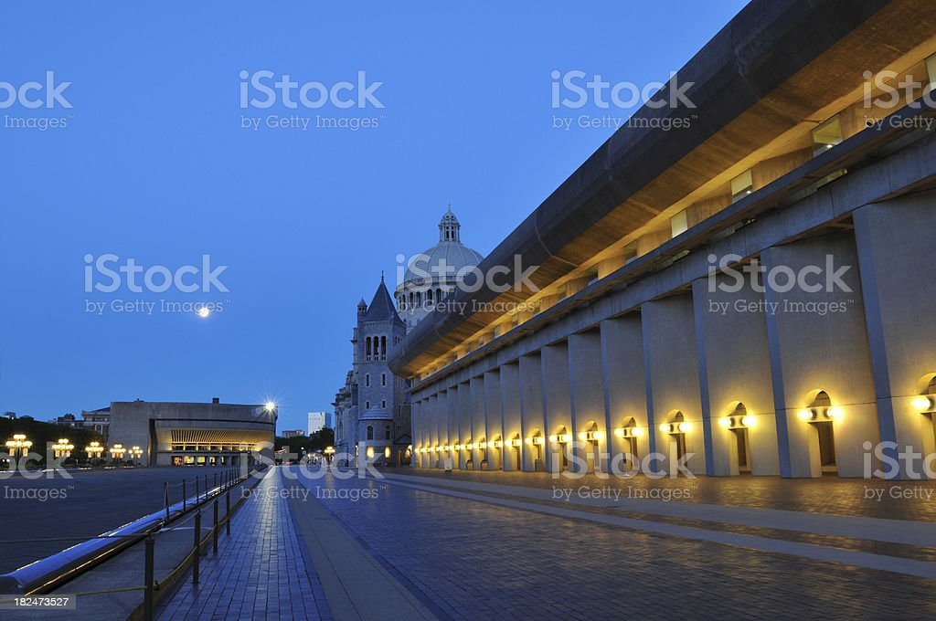 Christian Science Center in Boston royalty-free stock photo