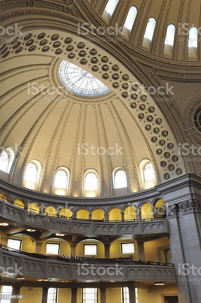 Christian Science Church in Boston stock photo