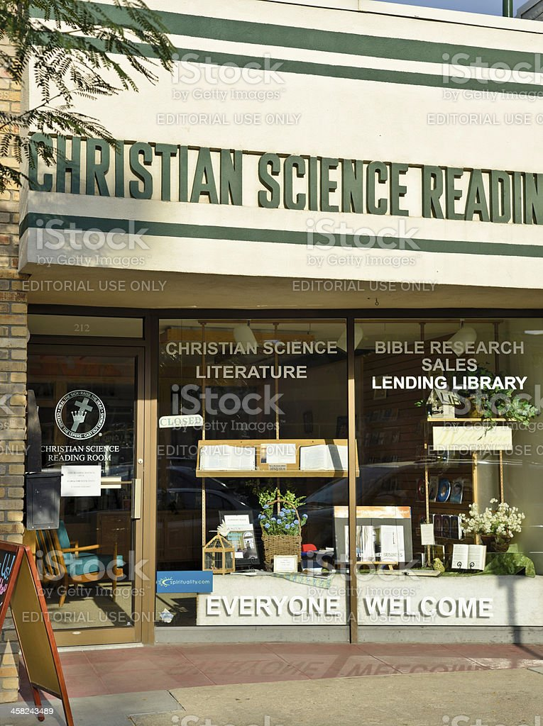 Christian Science Reading Room, Denver royalty-free stock photo