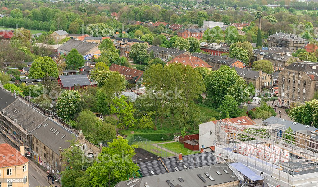 Christiana Copenhagen royalty-free stock photo