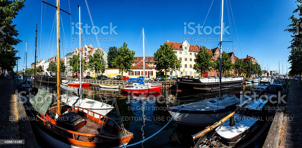 Christianhavns channel royalty-free stock photo