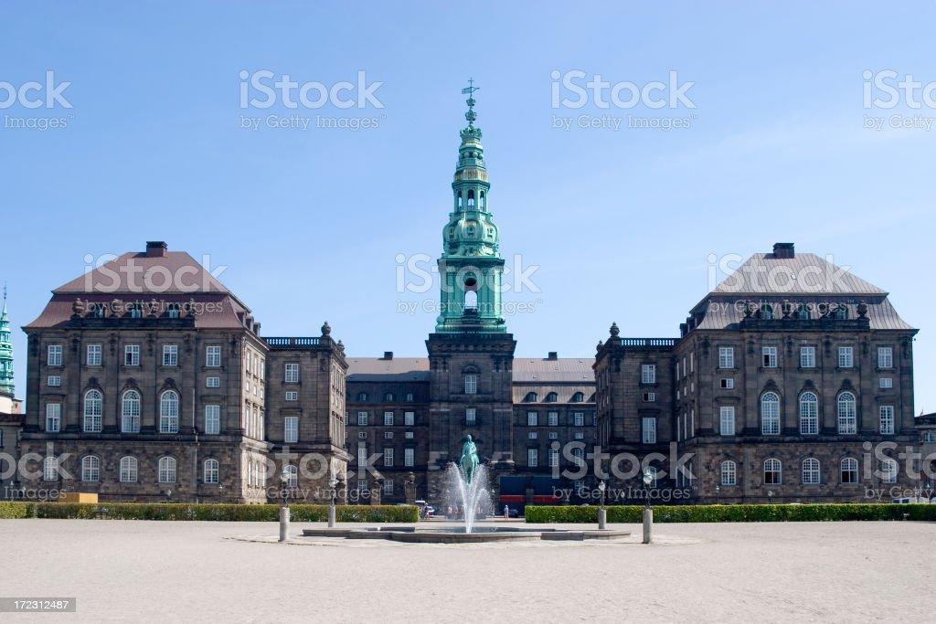 Christiansborg Palace, Copenhagen, Denmark stock photo