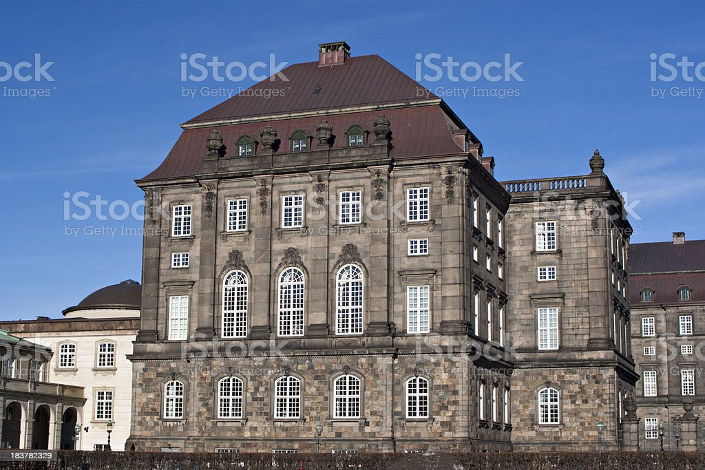 'Christiansborg Palace, Copenhagen, Denmark' stock photo