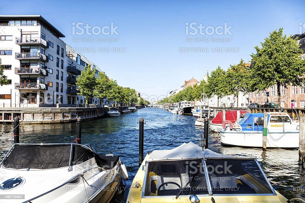 Christianshavn Canal royalty-free stock photo