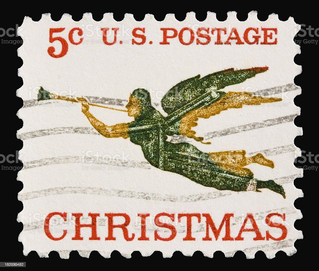 Christmas 1965 stock photo