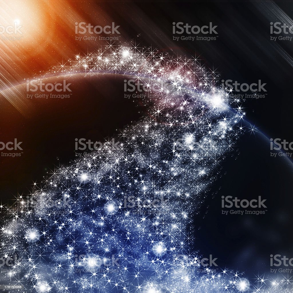 Christmas Abstract Background royalty-free stock photo