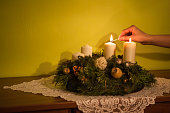Christmas advent traditional concept