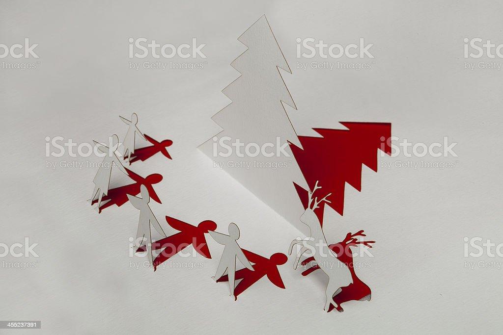 christmas and card stock photo