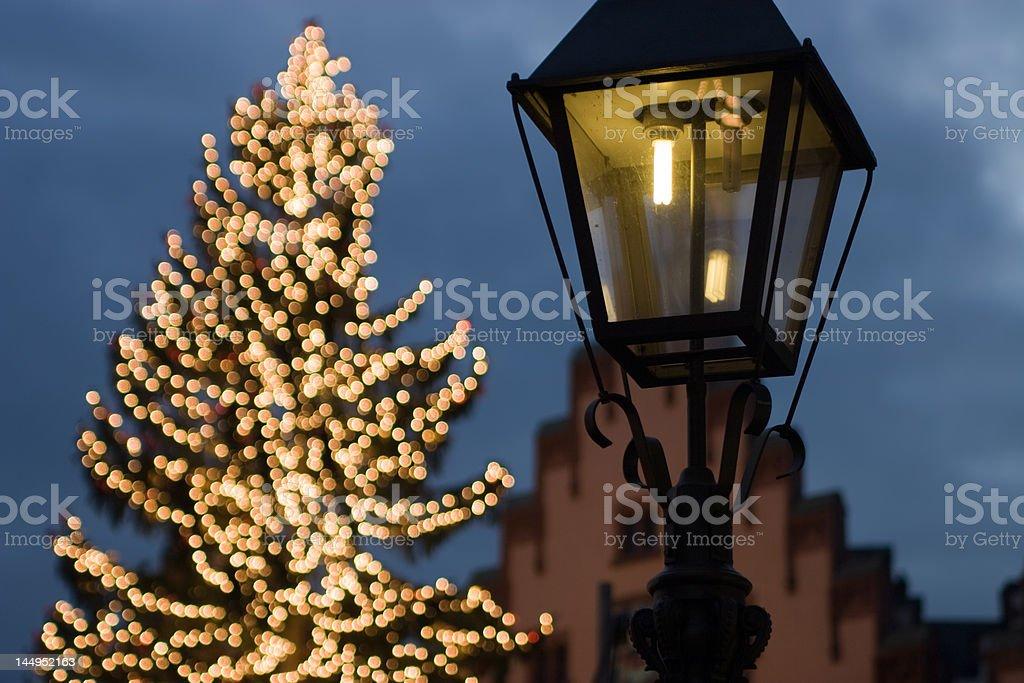 Christmas and light royalty-free stock photo