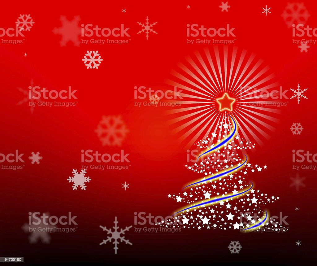Christmas and New Year background royalty-free stock photo