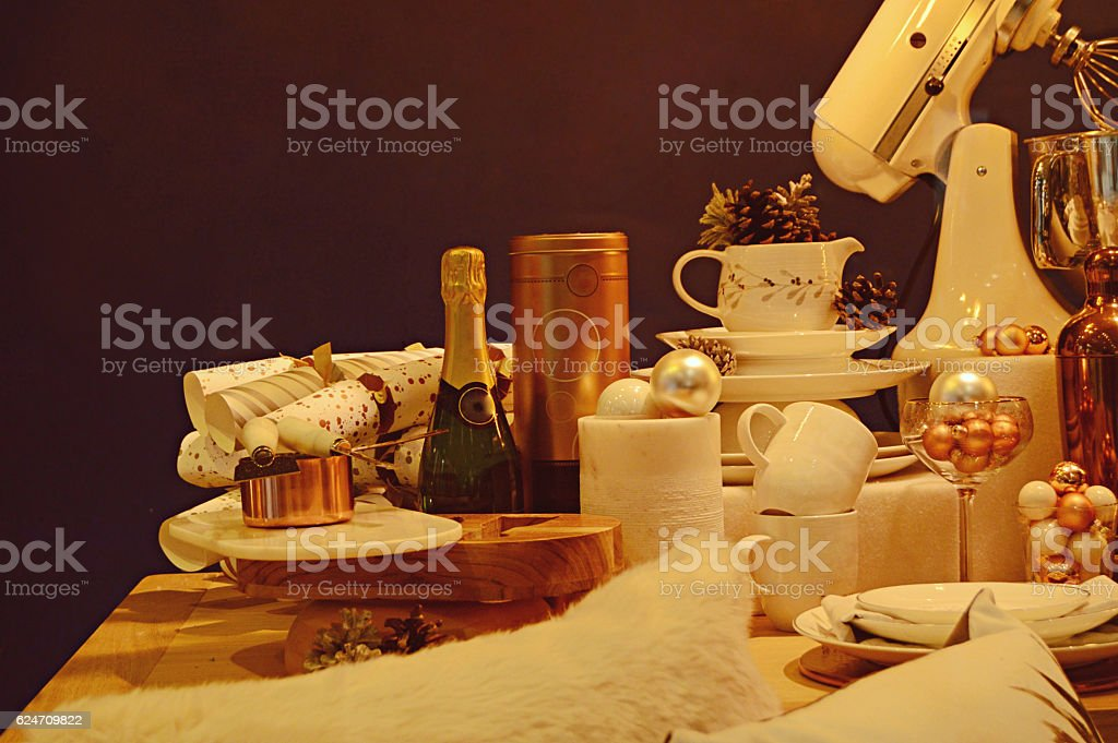 Christmas and new year celebrations theme stock photo