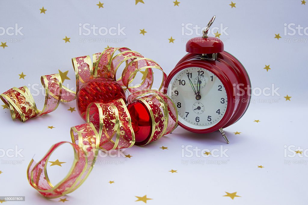 Christmas and New Year stock photo