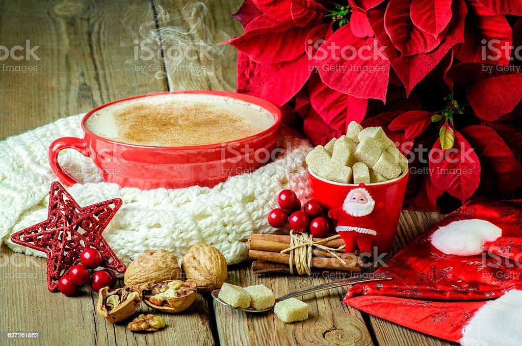 Christmas and winter. stock photo