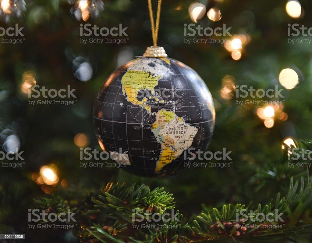 Christmas around the world stock photo