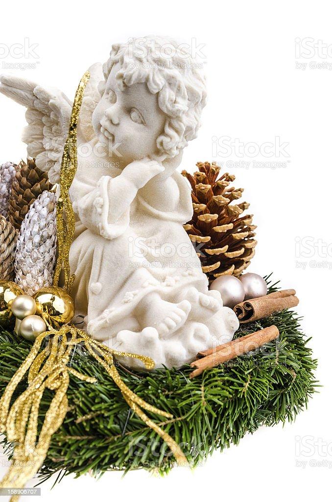 Christmas arrangement royalty-free stock photo