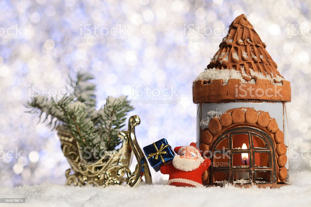 Christmas Arrangement royalty-free stock photo