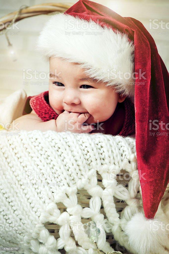 Christmas babe royalty-free stock photo