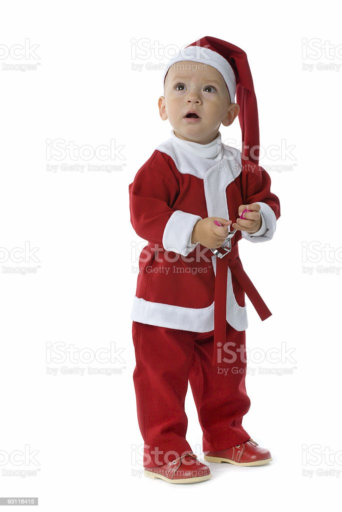 Christmas baby royalty-free stock photo