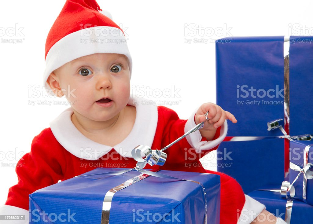 Christmas Babys royalty-free stock photo