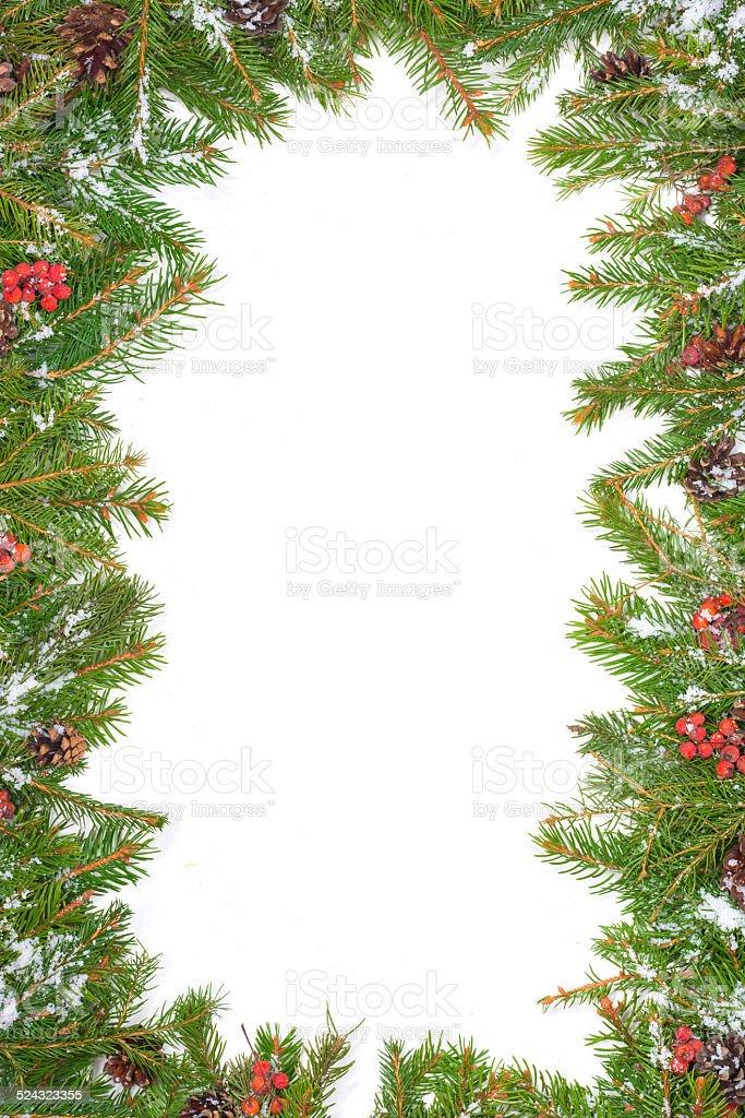 Christmas background. Eve framework stock photo