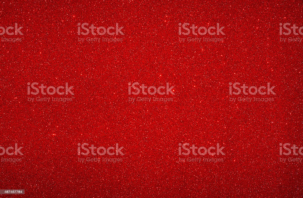 Christmas Background – Red Glitter – Sharp stock photo