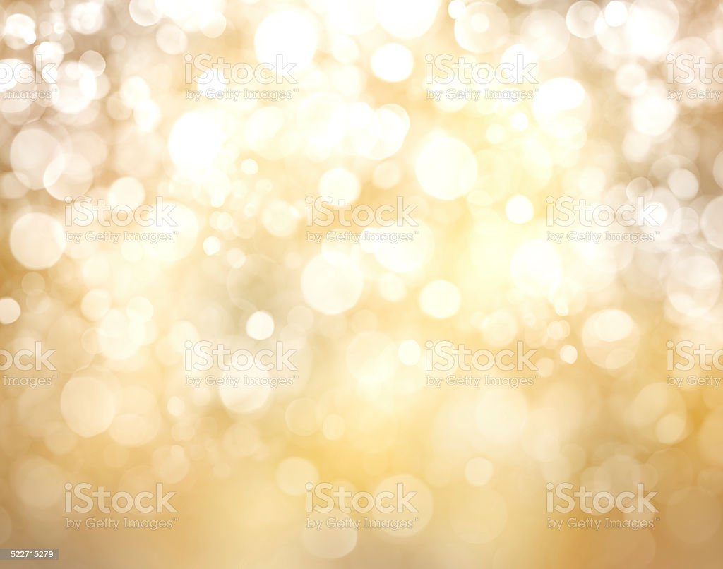 Christmas background with bokeh lights stock photo